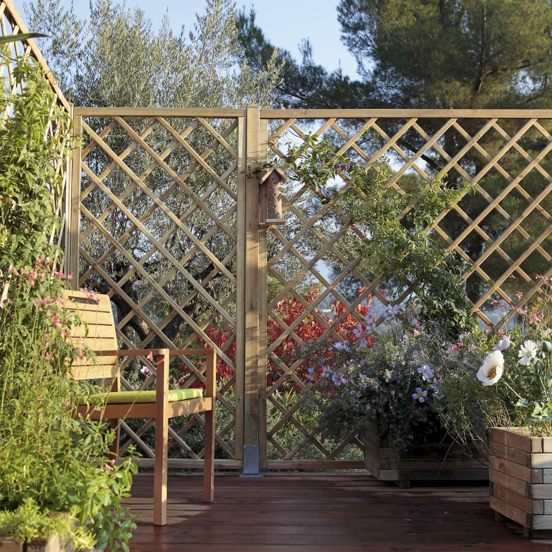Cloture Bois Composite Leroy Merlin Luxe Galerie Grillage Jardin ...