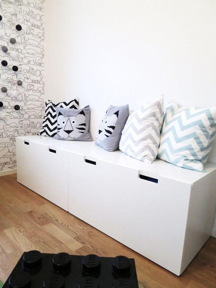 Coffre A Jouet En Bois Ikea Beau Photos Rangement Chambre Enfant Ikea Stuva …