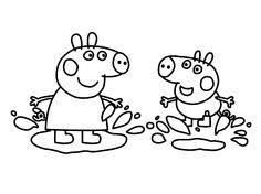 Coloriage De Peppa Pig à Imprimer Beau Photos Free Peppa Pig Printable Word Puzzles Peppa