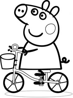 Coloriage De Peppa Pig à Imprimer Impressionnant Photos Dessin Peppa Pig 29 Coloring Pages Peppa Pig Pinterest