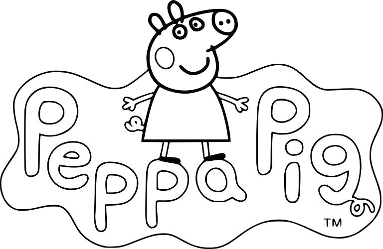 74 Beau Photographie De Coloriage Peppa Pig Imprimer
