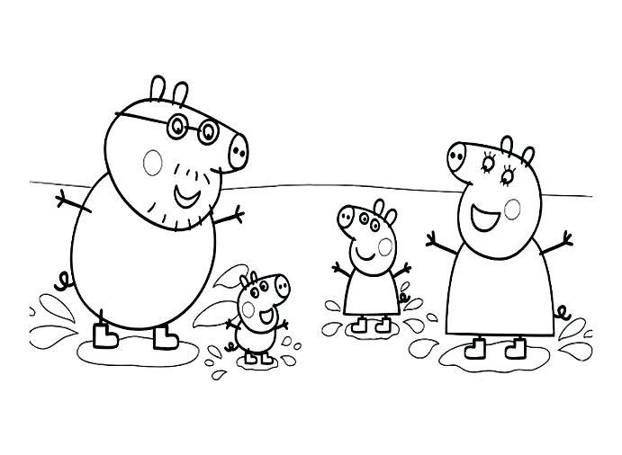 Coloriage Peppa Pig Imprimer Beau Images Coloriage Pepa Pig A Imprimer Gratuit Coloriage Peppa Pig A Imprimer