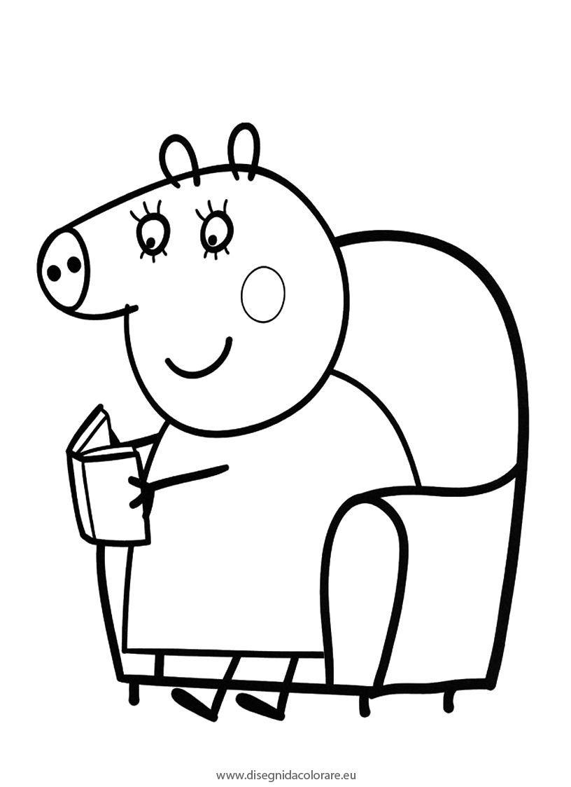 Coloriage Peppa Pig Imprimer Beau Photos 111 Dessins De Coloriage Peppa Pig  Imprimer Sur Laguerche