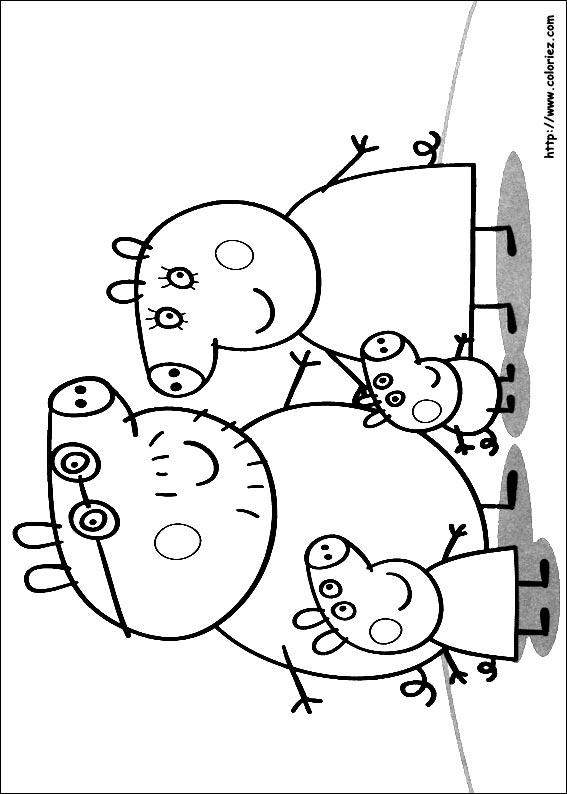 Coloriage Peppa Pig Imprimer Beau Photos 47 Dessins De Coloriage Peppa Pig  Imprimer