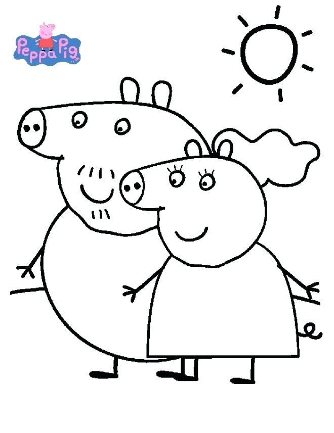 Coloriage Peppa Pig Imprimer Beau Photos Coloriage Peppa Pig 236 Dessin A Imprimer – Abiconfo