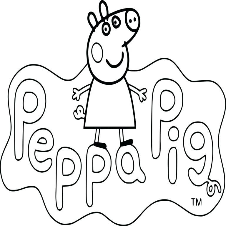 Coloriage Peppa Pig Imprimer Beau Stock Coloriage De Peppa Pig A Imprimer Coloriage Peppa Pig Dessin A