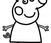 Coloriage Peppa Pig Imprimer Élégant Image Coloriage Peppa Pig Dessin Animé Dessin Gratuit  Imprimer
