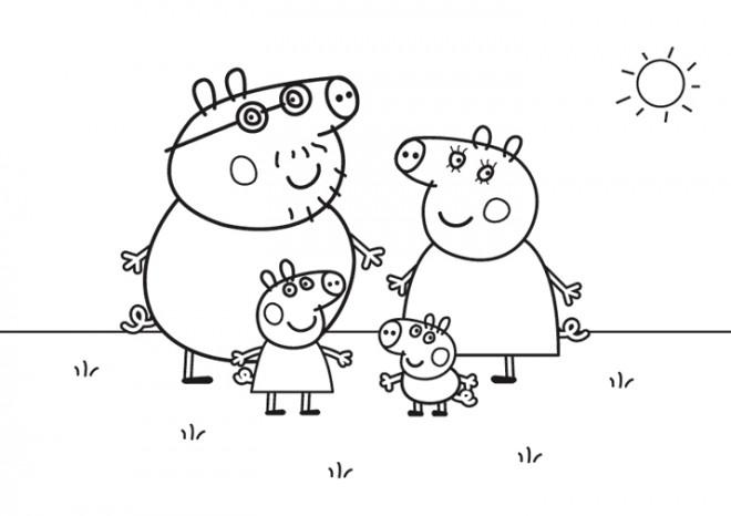 Coloriage Peppa Pig Imprimer Élégant Photos Coloriage Peppa Pig Cochon Dessin Gratuit  Imprimer