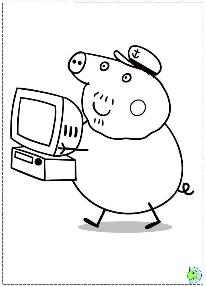 Coloriage Peppa Pig Imprimer Frais Photos 111 Dessins De Coloriage Peppa Pig  Imprimer Sur Laguerche