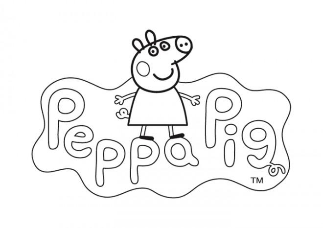 Coloriage Peppa Pig Imprimer Impressionnant Collection Coloriage Peppa Pig 21 Dessin Gratuit  Imprimer