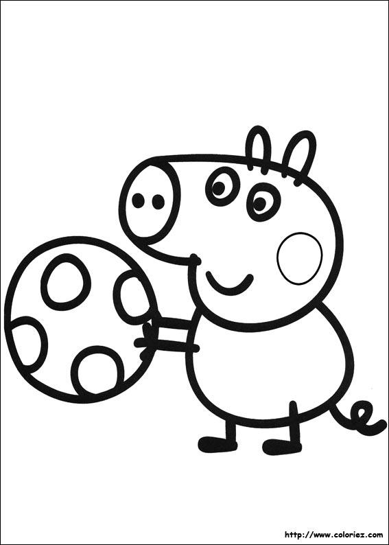 Coloriage Peppa Pig Imprimer Impressionnant Photos 47 Dessins De Coloriage Peppa Pig  Imprimer