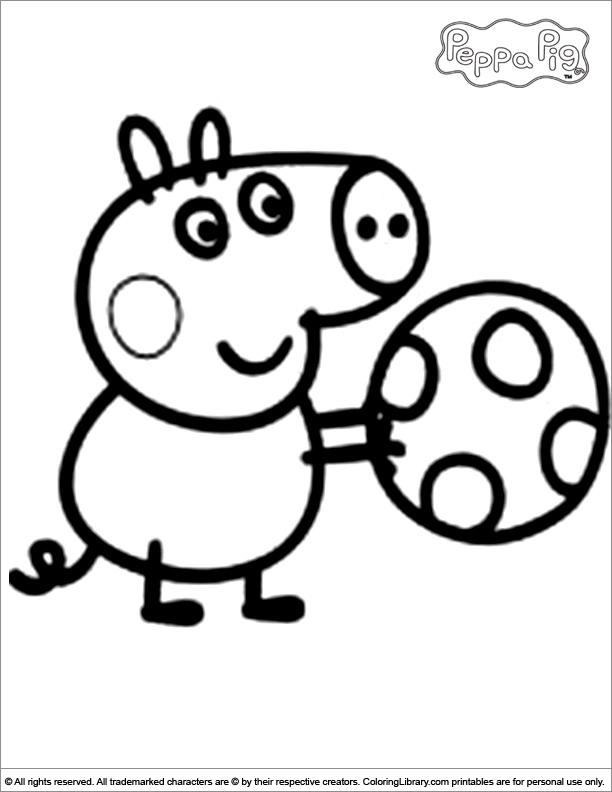 Coloriage Peppa Pig Imprimer Inspirant Photos Un Coloriage De Peppa Pig 111 Dessins De Coloriage Peppa Pig