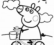 Coloriage Peppa Pig Imprimer Luxe Collection Coloriage Peppa Pig 18 Dessin Gratuit  Imprimer