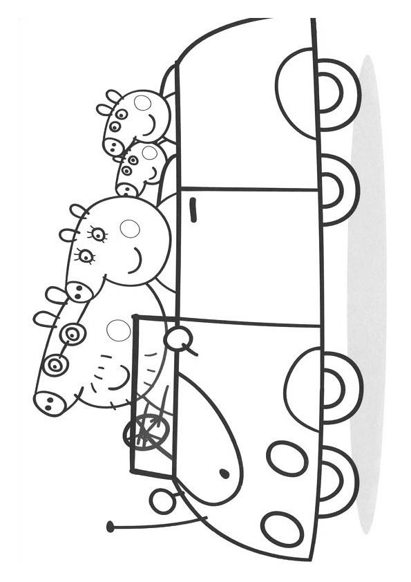 Coloriage Peppa Pig Imprimer Nouveau Collection Coloriage Peppa Pig 16 Dessin Gratuit  Imprimer