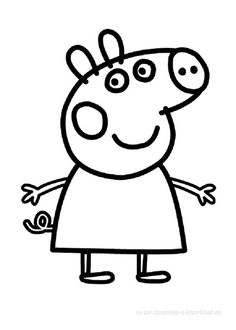 Coloriage Peppa Pig Imprimer Nouveau Stock Coloriage Peppa Pig1 Idées  Faire Avec Nenfants