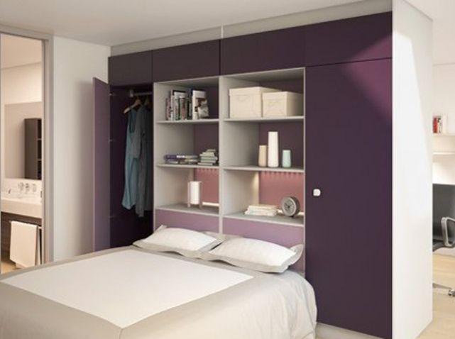 Comment Rehausser Un Lit Trop Bas Beau Photographie 15 Idées De Dressings Pour Un Petit Appartement