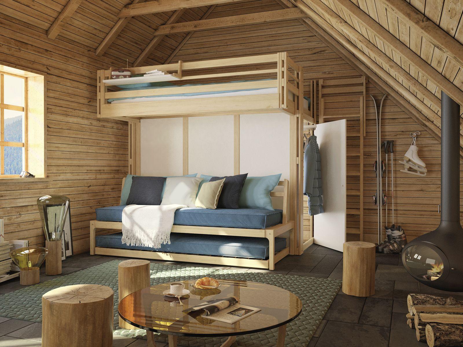 Comment Rehausser Un Lit Trop Bas Beau Photos La Mezzanine attique Parfaite Pour Sa Résidence  La Montagne