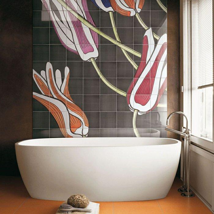 Couleur Salle De Bain Tendance 2014 Impressionnant Galerie Aménagement Salle De Bains Turquoise Rose orange 25 Idées
