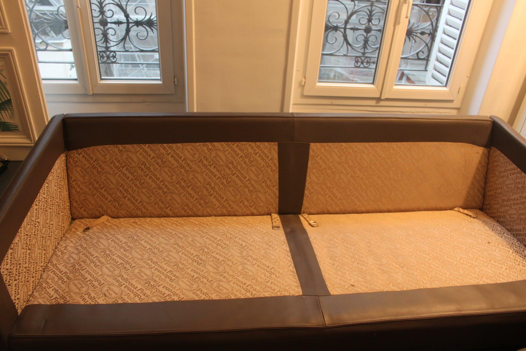 Coup De soleil Mobilier Meilleur De Collection Canapé socrate Poltrona Frau Cuir Gris Classique atmub39