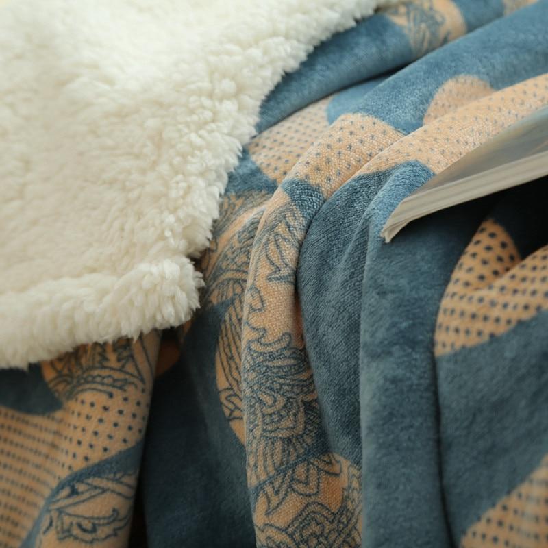 Couverture Mi Housse Polaire Inspirant Photos Doux Et Chaud Polaire Couvertures Double Couche épais En Peluche