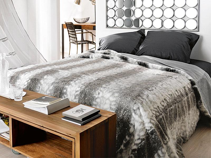 Couvre Lit Fausse Fourrure Carrefour Impressionnant Stock Boutis Pas Cher Lit 2 Personnes Lit Adulte Moderne Design White