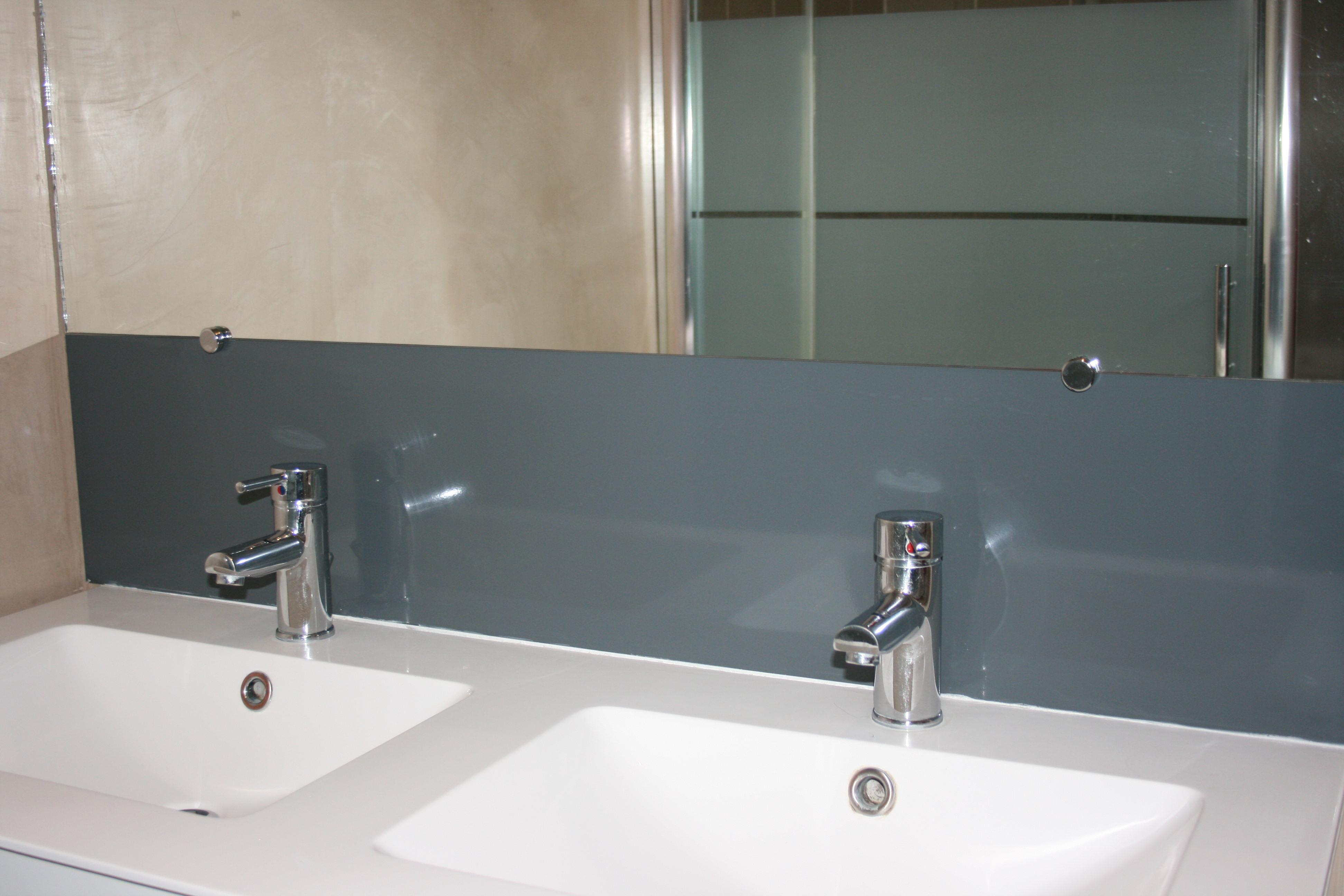 Credence Salle De Bain Lavabo Beau Image L Aluminium Couleur Pour toutes Vos Idées Design Alucouleur