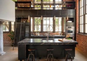 Cuisine Americaine Avec Bar Inspirant Image Cuisine Avec Ilot Bar Génial Modele De Cuisine Americaine Avec Bar