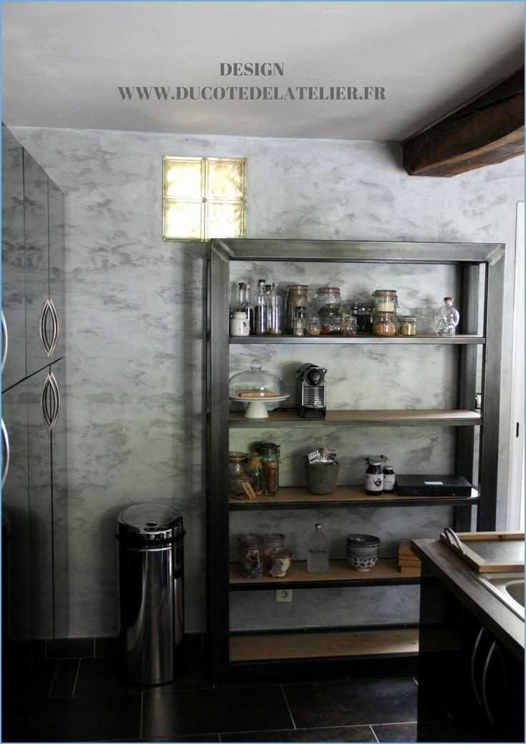 Cuisine Aubergine Et Bois Inspirant Galerie Grand Cuisine Bois Et Blanc Décor  La Maison Et Intérieur