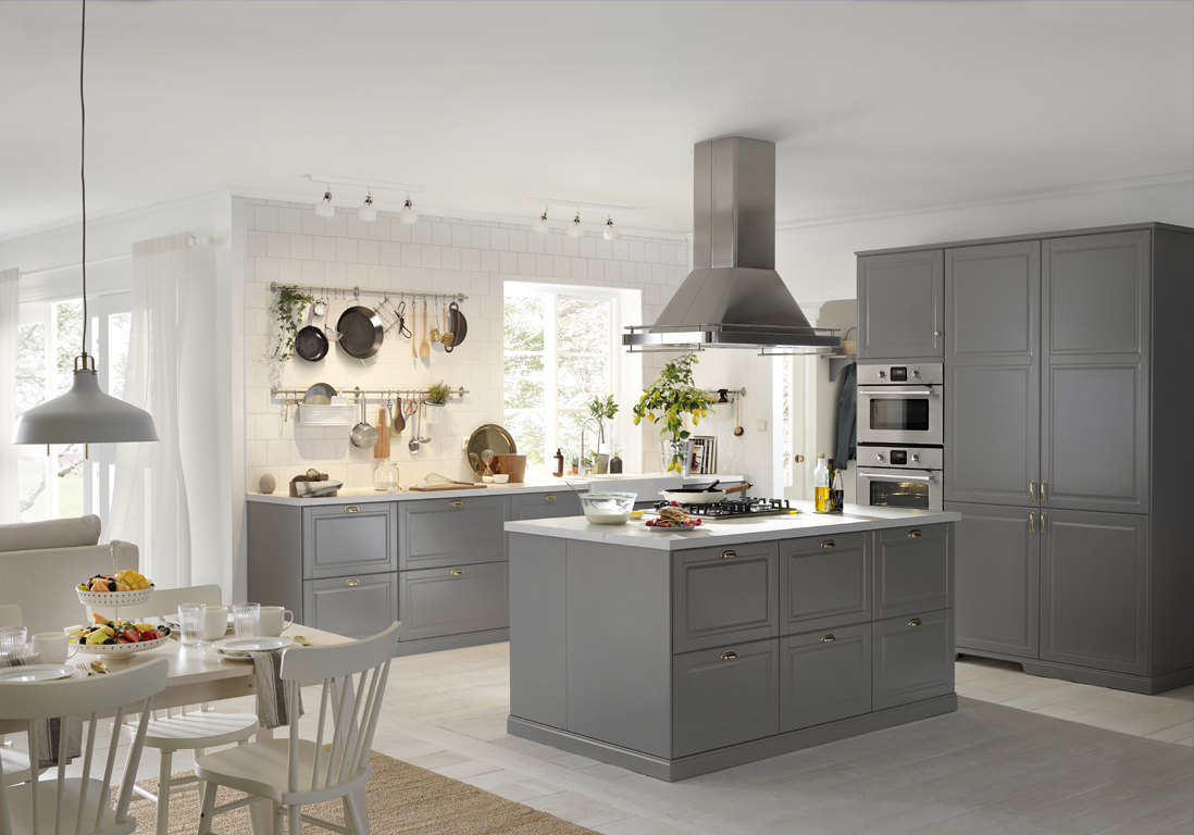 Cuisine Bodbyn Grise Ikea Élégant Collection Beautiful Cuisine Bodbyn Grise Joshkrajcik