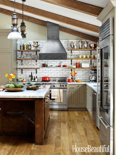 Cuisine Chalet Rustique Luxe Photos Love This Kitchen for the Home