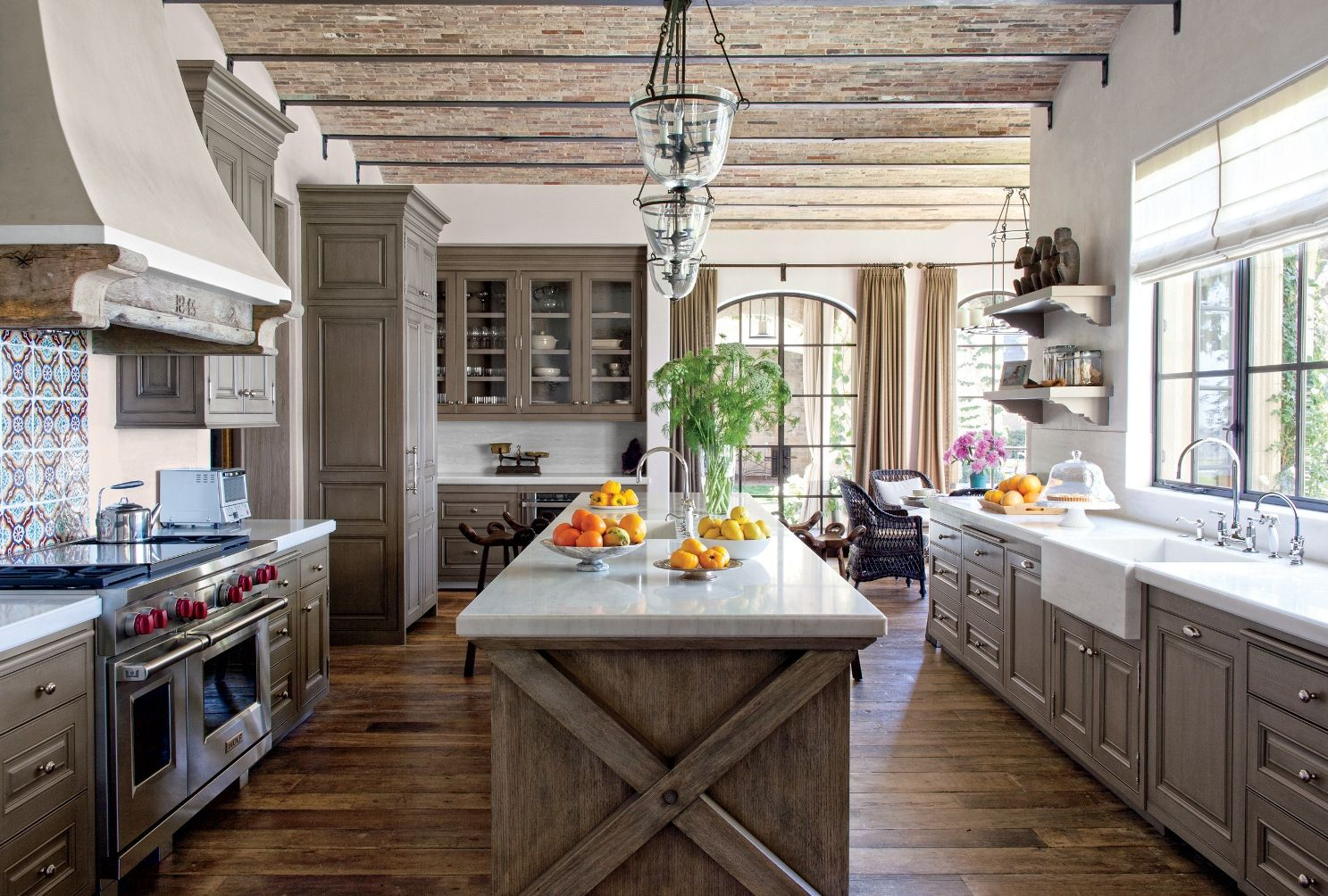 Cuisine Chalet Rustique Meilleur De Galerie Interesting Rustic Kitchen Design Featuring Brown Laminated Wooden