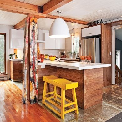 Cuisine Chalet Rustique Beau Photos Exposed Wood Beams Cottage ...