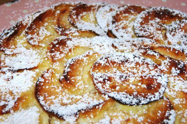Cuisine De Micheline Beau Photos Flamusse Aux Pommes Cuisine De Micheline Pinterest