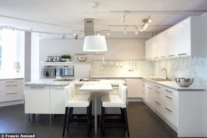 Cuisine Ikea Ringhult Blanc Brillant Avis Élégant Galerie Ikea Ringhult Rouge Ikeas Tingsryd Cabinet Style Can Go From Modern