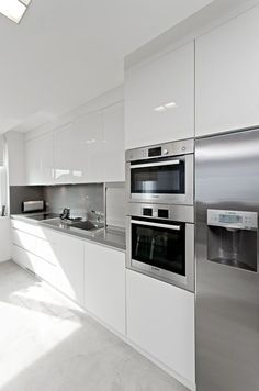 Cuisine Ikea Ringhult Blanc Brillant Avis Impressionnant Galerie A Modern White Metod Kitchen with Ringhult High Gloss White Fronts