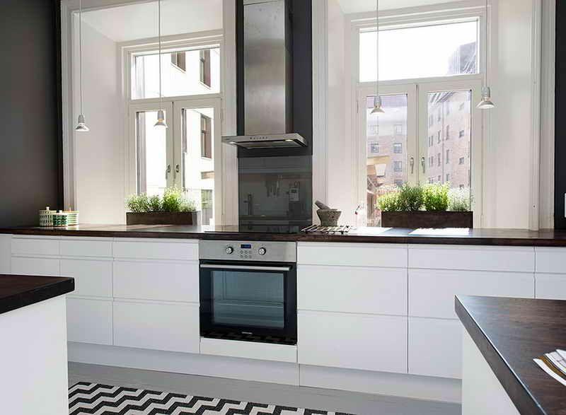 Cuisine Ikea Ringhult Blanc Impressionnant Photographie Ambiance Générale De La Cuisine Meubles Blanc Plan De Travail