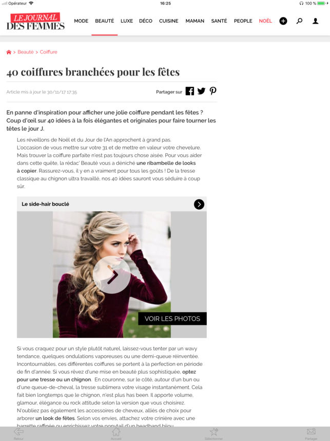 Cuisine Le Journal Des Femmes Luxe Photos Journal Des Femmes Dans L App Store