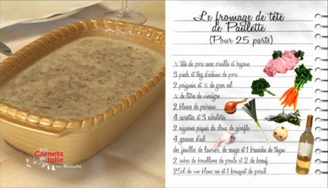 Cuisine Plus Tv Inspirant Image Fromage De Tªte De Paulette Le Pays Messin Recettes Les