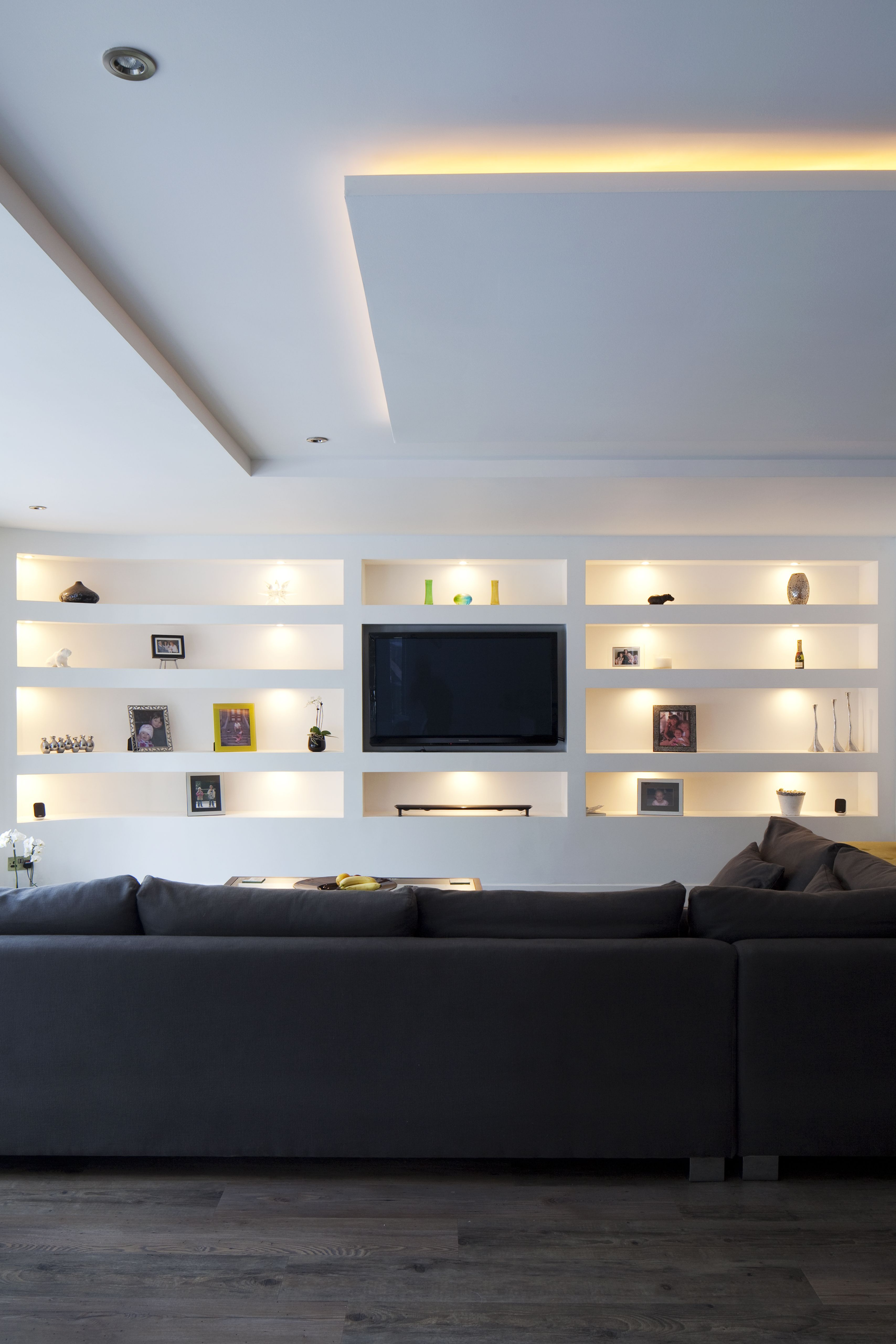 Cuisine Plus Tv Inspirant Photographie Living Room Open Plan Seating
