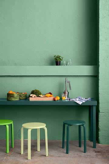 Cuisine Vert Amande Inspirant Image Couleur Peinture Maison Pourquoi On Aime Le Vert