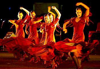 Danseuse Flamenco Dessin Beau Image Flamenco Dancing