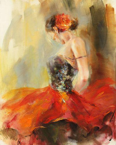 Danseuse Flamenco Dessin Beau Photos Anna Razumovskaya Paintings