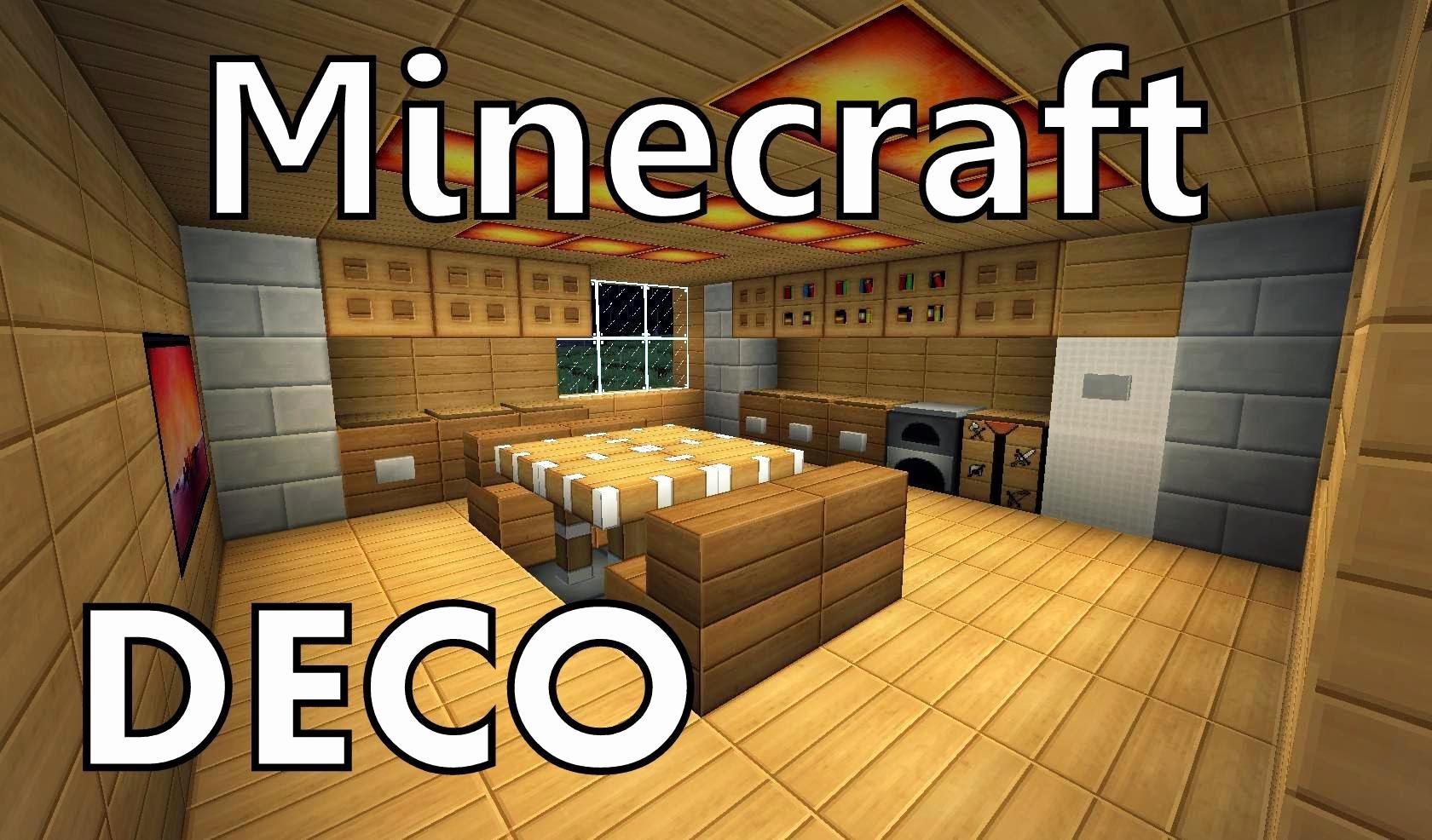 Deco Cuisine Minecraft Frais Photographie Cuisine Moderne Minecraft Meilleur De Idee Deco Pour Un Salon