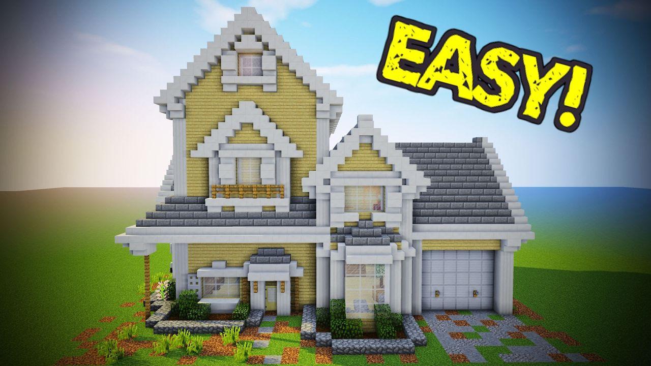 Deco Cuisine Minecraft Nouveau Collection Minecraft Suburban House Tutorial Minecraft House