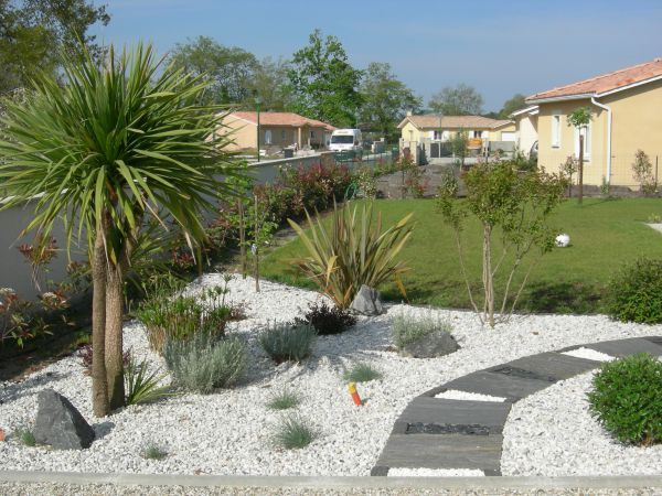 Deco Jardin Avec Piscine Beau Image Idee Decoration Jardin Mineral Avec Palmier Galerie Creation