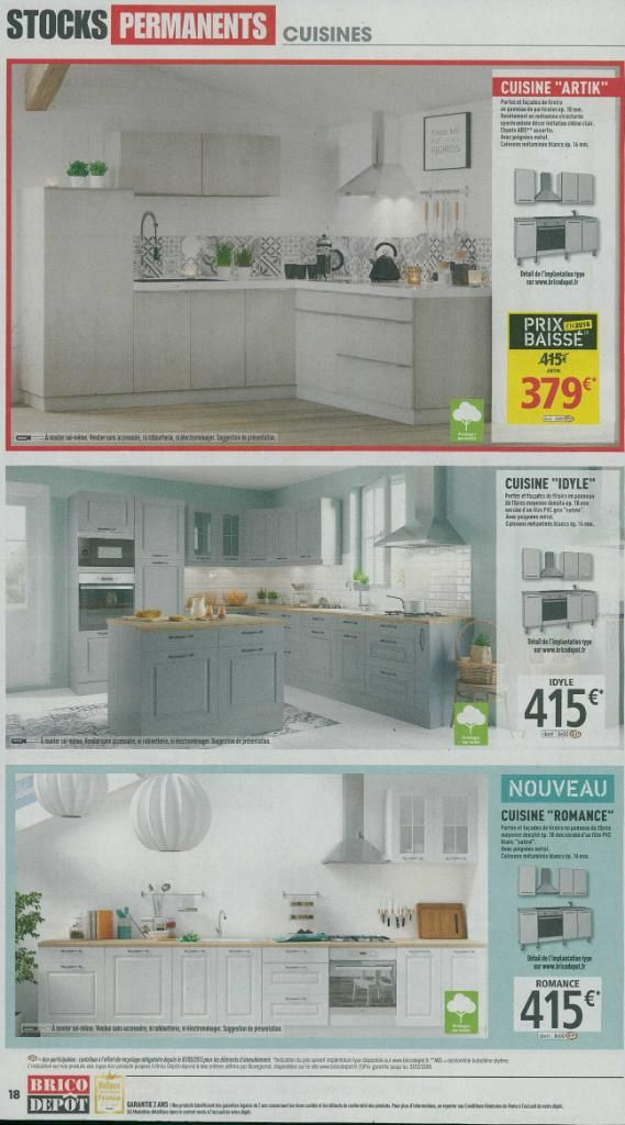 cuisine idyle brico d p t. Black Bedroom Furniture Sets. Home Design Ideas