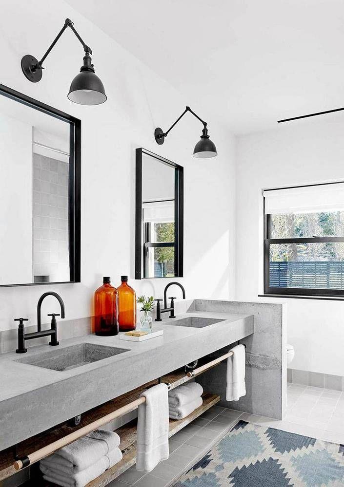Designmag Salle De Bain Inspirant Collection Les 93 Meilleures Images Du Tableau Concrete Projects Sur Pinterest