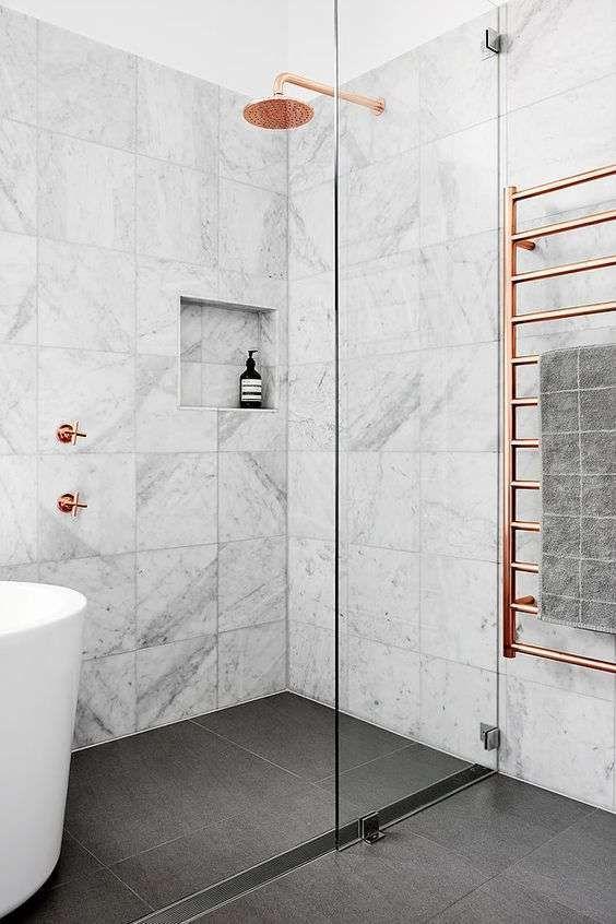 Designmag Salle De Bain Inspirant Stock E Arredare Il Bagno Con Il Grigio Bagno In Marmo Grigio