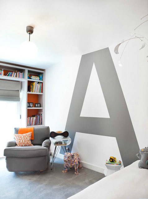 "Designmag Salle De Bain Nouveau Galerie Carl Berg Home Love the ""a"" On the Wall Ca Home Design Mag"