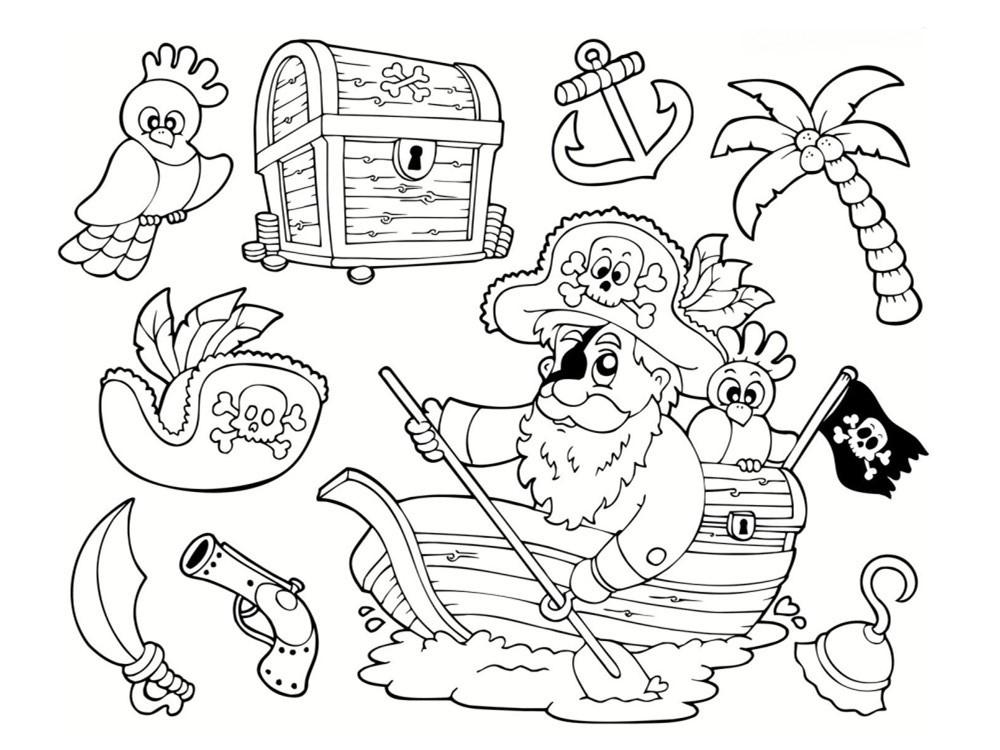 Dessin à Colorier Playmobil Beau Galerie Coloriage Pirate 25 Dessins  Imprimer